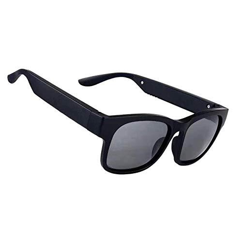 LMST Smart Bluetooth Brille Bluetooth 5.0 Stereo Bluetooth Headset Outdoor Sonnenbrille Aussen Lautsprecher IP7 Wasserdicht, L5IX2034969FB7E13U2I85, dunkelgrau