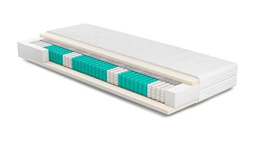 Matratze 80x220 cm | SERA H4 | Purotex | Orthopädische 7-Zonen | Komforthöhe 23cm |...