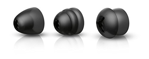 Philips SSA5ET/00 oordopjes (geschikt voor draadloze AudioBoost-tv-hoofdtelefoon) zwart