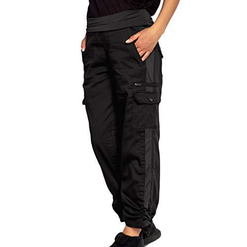 SCOTTeVEST Women's Margaux Cargaux Travel Cargo Pants | 11 Concealed Pockets Black