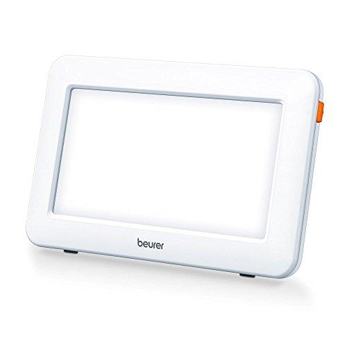 Beurer TL 20 Tageslichtlampe, klein und handlich, ideal für die Lichttherapie unterwegs, 21 x 13 x 2 cm