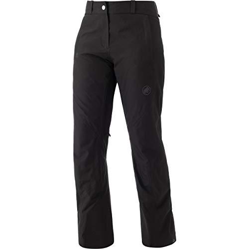 Mammut Casanna Pantalon Hard Shell Isolant Femme, Black, FR : S (Taille Fabricant : EU 36)