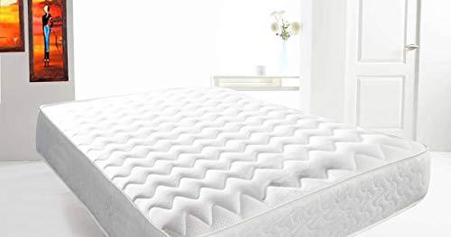Mattress-Haven Deep SleepReflex Memory Foam Mattress, Memory Sprung Mattress 4FT - Small double Mattress