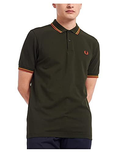 Fred Perry Polo Verde Uomo MOD. FP-M3600-38 M