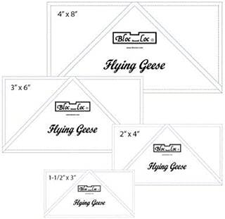 Bloc Loc Flying Geese Ruler Set 1~1.5