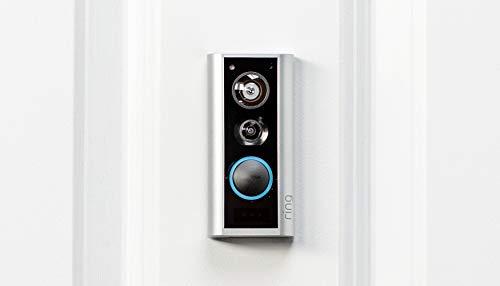 Ring Door View Cam | El videotimbre con vídeo HD 1080p y comunicación bidireccional | Para puertas con un grosor de 34 a 55 mm | Incluye una prueba de 30 días gratis del plan Ring Protect