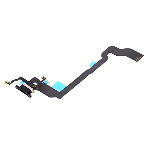 Compatible con iPhone X Flex Flat Dock puerto enchufe micro USB circuito módulo conector dock carga + micrófono PCB