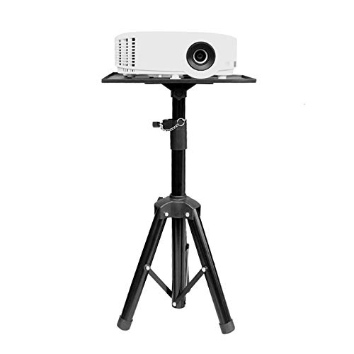 hongbanlemp DJ Presentation Mount Lightweight Height Adjustable Laptop Stand Tripod, Portable Projector Tripod Stand, Multifunction Compact Stand for Travel/Photography/Projector Projector bracket