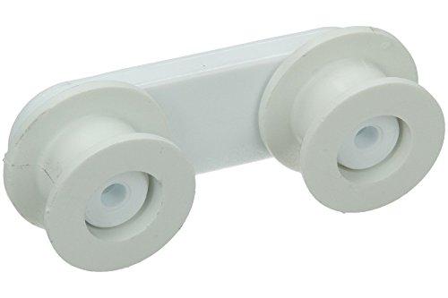 AEG ELECTROLUX ZANUSSI TRICITY BENDIX de corredor de la cesta de lavavajillas ruedas x , 4 unidades