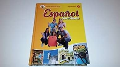 Espanol Santillana Level 1 Spanish High School Florida Student Textbook