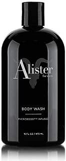 Alister Body Wash For Men, By Dan Bilzerian, All Natural, Clean, Vegan, Pheroboost Infused