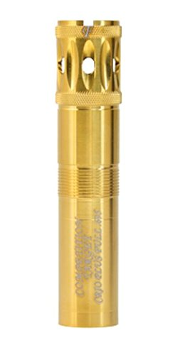Carlson's Choke Tube Benelli Crio Plus Gold Competition Target Ported Sporting Clays Choke Tubes, 12 Gauge, Imp Mod, Gold