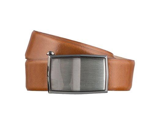LLOYD Men\'s Belts Gürtel Herrengürtel Ledergürtel Cognac 3155, Farbe:Braun, Länge:120