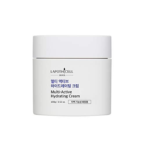 LAPOTHICELL crema hidratante multiactiva, 3.53oz, hidratante para cara y cuerpo, calmante, reafirmante, hidratante