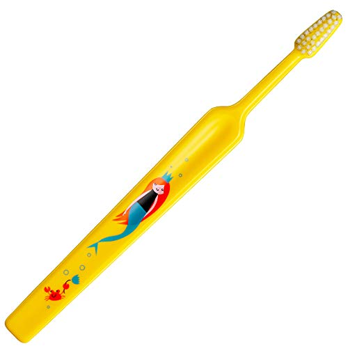 TePe Kids Spazzolino da denti extra morbido, per l'igiene orale dei bambini dai 3 anni, 1 pz x confezione