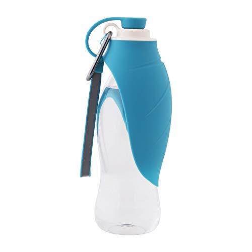 Roysili Portable Dog Water Bottle Expandable Silicone Dog Travel Water Bottle Dispenser Great