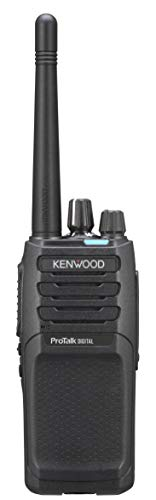 Kenwood NX-P1200NVK 5W VHF Digital & Analog Portable Two-Way Radio with 16 Channels Capacity | Quad Zone, Tough & Water Resistant Radio