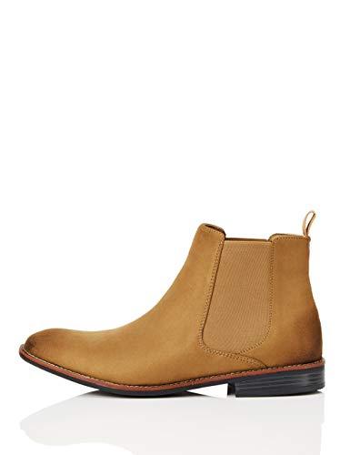 FIND Chelsea Boots, Braun (Sand), 42 EU