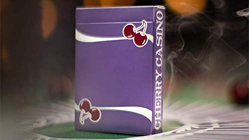 SOLOMAGIA Cherry Casino Fremonts (Desert Inn Purple) Playing Cards by Pure Imagination Projects