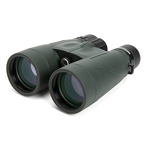 Celestron 71335 Nature DX 10x56 BaK-4 Prism Binoculars, Green