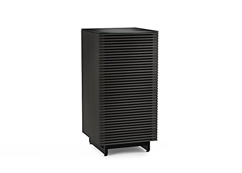 Best Review Of BDI Corridor Audio Tower & Stereo Cabinet, Charcoal Stained Ash