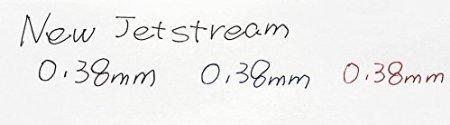 uni-ball Jetstream Extra Multa Nuova & Clic di Punto Micro Penne della Palla del Chi arrotola Retrattili, - Tipo della Presa della Gomma -Inchiostro 0.38mm-nero - 3 Penne & 3 Set di Valore di Ricambi di Penne (Col Nostro Negozio descrizione originale dei beni)