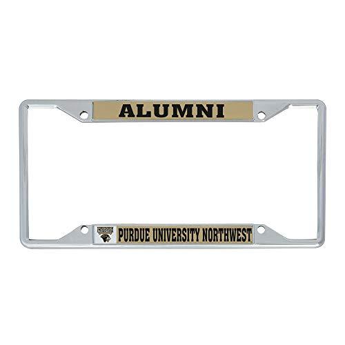 Desert Cactus Purdue University Northwest PNW Pride NCAA Metal License Plate Frame for Front or Back of Car Officially Licensed (Alumni)