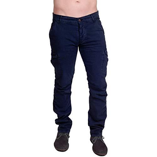 Rockstar Sushi - 'Cargo Pants in Dark Blue (31)