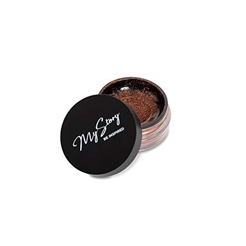 My Story Bronzer (Sunkissed bronzer powder dark, Cruelty-Free, Shimmer Bronzing Powder to Use For Contour Makeup, Highlighters Makeup)