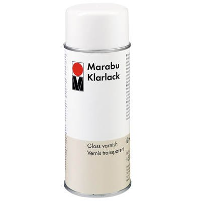 Farbloses Klarlack-Spray Marabu 150ml [Spielzeug]