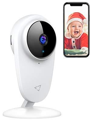 Victure 1080P IP 2.4GHZ WiFi Camara de Vigilancia Vigilabebes Camara con Deteccion de Sonido y Seguimiento de Movimiento Camara vigilancia