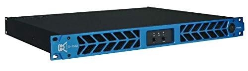 Lowest Prices! CVR D-1502 Series Professional Power Amplifier 1 Space 1500 Wattsx4 at 8Ω BLUE