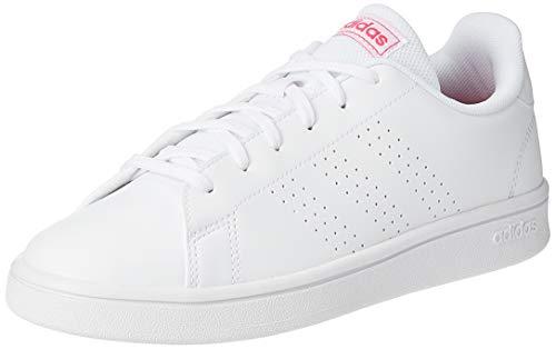 adidas Advantage Base Zapatillas, Blanco, 36.2/3
