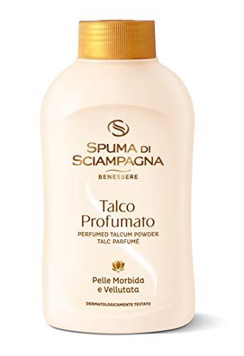 Spuma di Sciampagna – Talc parfumé, Sensation De Bien-être, 200 g