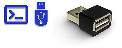KeyGrabber Forensic Keylogger Max 16 GB - Enregistreur de Frappe matériel USB Ultra-Compact avec Injection de Frappe programmable pour Les Tests de pénétration