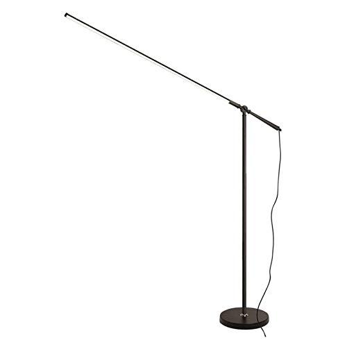 Lámpara de Piso LED Lámpara de pie Arco Contemporary Lámpara de la sala de estar, dormitorio, sala de estudio, comedor, oficina lámpara de pie, Escritorio regulable Permanente Luz pendiente de la lámp
