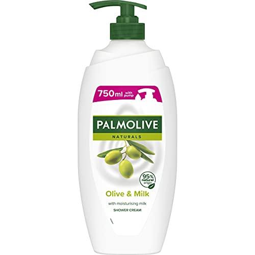 Palmolive Natural s Olive & Milk nawilżający krem pod prysznic, 750 ml