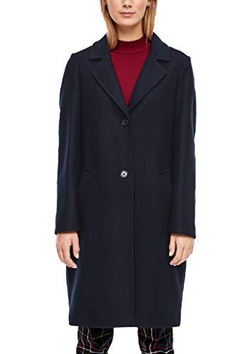 s.Oliver RED LABEL Damen Klassischer Mantel in Woll-Optik navy 36