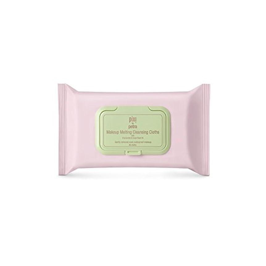 枯れるフラスコ修正Pixi Makeup Melting Cleansing Cloths (Pack of 6) - 化粧溶融クレンジングクロス x6 [並行輸入品]