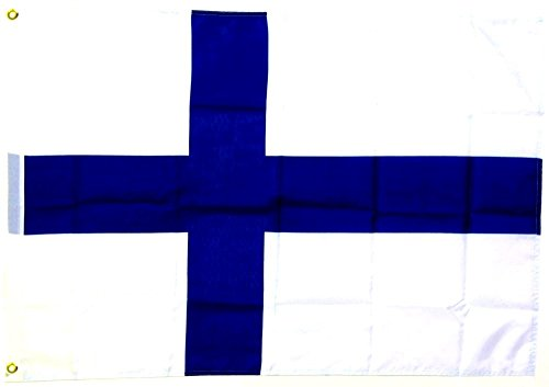 Fahne Flagge Finnland 30 x 45 cm [Spielzeug]