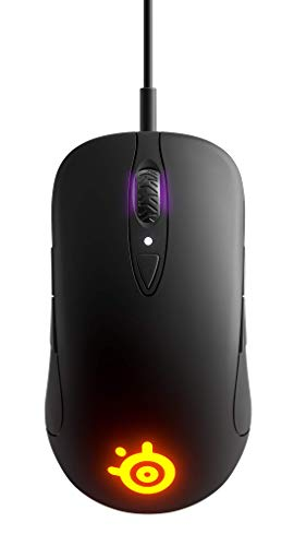 SteelSeries Sensei Ten Gaming-Maus (TrueMove Pro Optical Sensor mit 18.000 CPI, Beidhändiges Design, 8 programmierbare Tasten)