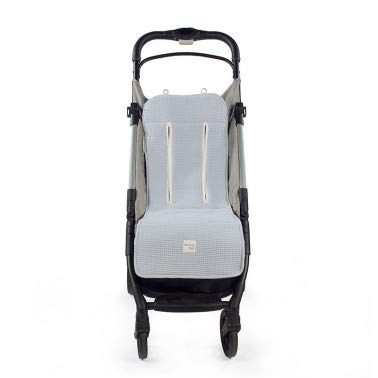 Walking Mum. Colchoneta para silla de paseo Baby Nature Ocean. Forro para silla, anti-sudoración para el verano. Uso universal y compatible con la mayoría de los cochecitos. Color Azul.