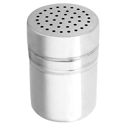 Botella de Especias portátil de Acero Inoxidable, Aparato de Cocina, condimento, agitador de Especias, dispensador de condimentos, Tarro Organizador (Mediano)