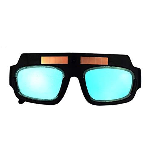 LUISONG FANMENGY Cup Máscara de Soldadura Casco Gafas Glasse PC Lente Gran Anteojos for la Protección de Soldadura Hogar