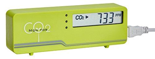 TFA-Dostmann AirControl Mini CO2 Messgerät TFA 31.5006 Raumluftüberwachung (Grün)