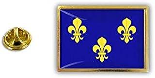 Spilla Pin pin's Spille spilletta Giacca Bandiera Badge Giglio Fleur de Lys r1