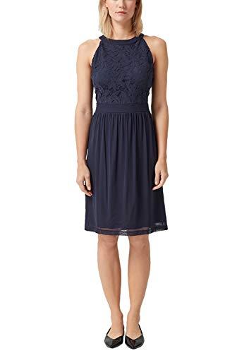 s.Oliver Damen 05.903.82.3042 Kleid, Blau (Navy 5959), (Herstellergröße: 44)