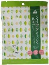 サンコー ソイラテキャンディ・抹茶 60g ※15袋セット