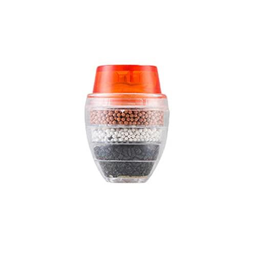 Floepx 3 filtros de agua Faucet Faucet, purificadores de cocina, filtro activado de carbón para el hogar, la cocina, la cocina, la eliminación de estados, herramienta de impureza