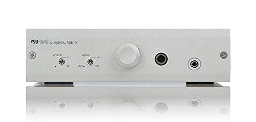Musical Fidelity V90-HPA - Amplificatore per cuffie, colore: Argento